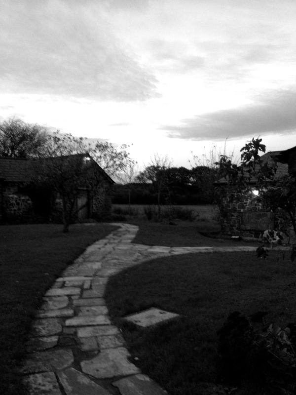 Dusk at Totleigh Barton
