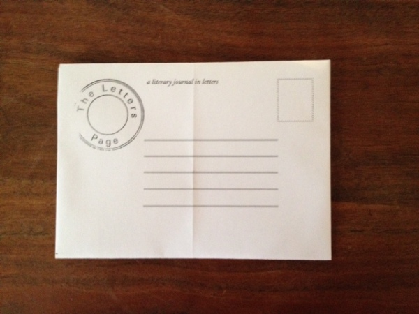 The Letters Page – Make Your Own Envelope